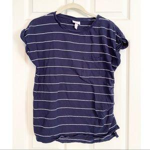 Boyfriend Style Maternity T-Shirt Size Small